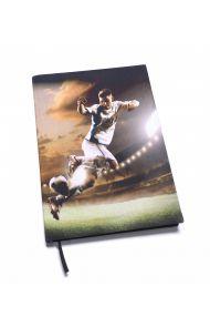 Bokbind Elastisk A4 Med Bokmerke Fotball