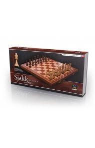 Spill Sjakk Deluxe Medium Tre Sammenleg
