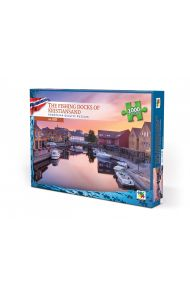 Puslespill Norge 1000 Fishing Docks Of Kristiansan