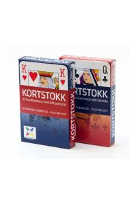 Kortstokk Bridge Size
