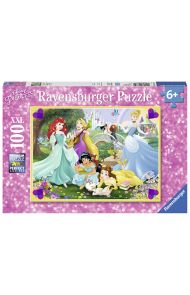 Puslespill Ravensburger 100 Disney Prinsesse
