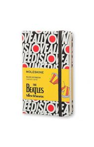 MOLESKINE BEATLES LINJERT NEED LOVE PKT