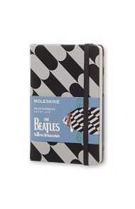 MOLESKINE BEATLES LINJERT SORT FISH PKT