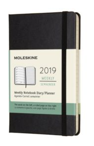 MOLESKINE 12M(2019) UKE  XL SORT SOFT