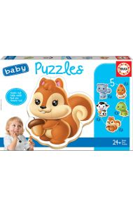 Puslespill Educa Baby 5 Animals