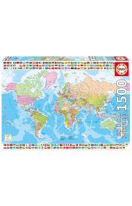 Puslespill Educa 1500 Political Worldmap