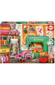 Puslespill Educa 1000 Sewing Corner