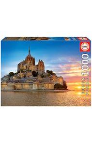 Puslespill Educa 1000 Mont Saint Michel, France