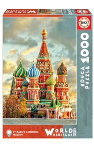 Puslespill 1000 St. Basil'S Cathedral Educa