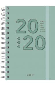 Dagbok Grieg Libra Trend 2020 grønn
