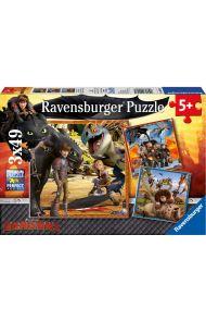 Puslespill Ravensburger Dragon Riders 3X49