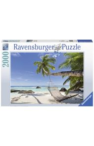 Puslespill Ravensburger 2000 On The Beach
