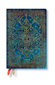 Paperblanks 12m 2019 Azure Mini Hor