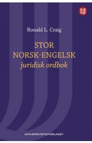 Stor norsk-engelsk juridisk ordbok = Norwegian-English law dictionary : with English-Norwegian index