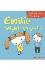 Emilie selger en gutt
