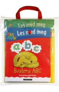 Busters ABC ; Evens 1, 2, 3 ; Leons former ; Les med meg aktivitetsbok