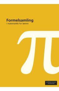 Formelsamling i matematikk for lærere
