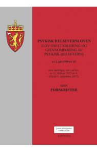 Psykisk helsevernloven (lov om etablering og gjennomføring av psykisk helsevern) av 2. juli 1999 nr.