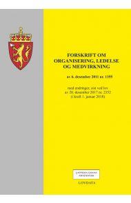 Forskrift om organisering, ledelse og medvirkning av 6. desember 2011 nr. 1355