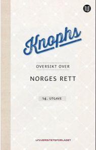 Knophs oversikt over Norges rett
