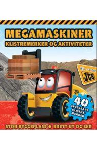 Megamaskiner. Klistremerker og aktiviteter. Stor b