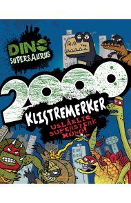 Dino Supersaurus. 2000 klistremerker