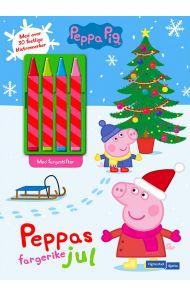 Peppas fargerike jul