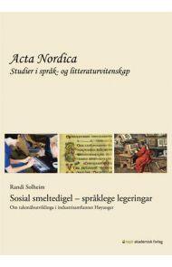 Sosial smeltedigel - språklege legeringar