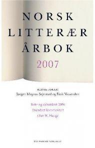 Norsk litterær årbok 2007