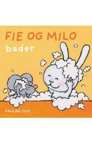 Fie og Milo bader