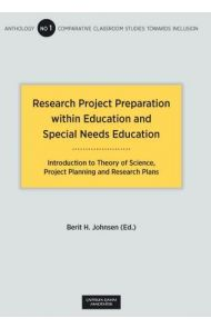 Research project preparation within education and special needs education