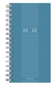 Lommekalender Grieg Memo Trend 2020 blå