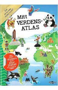 Aktivitetsbok Mittet Mitt Europa Atlas