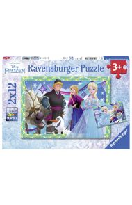 Puslespill Ravensburger 2X12 Frost