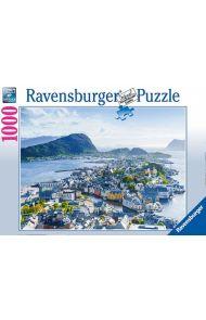 Puslespill Ravensburger 1000 Ålesund