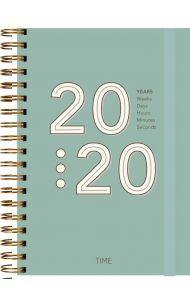 Dagbok Grieg Time A5 Trend 2020 grønn