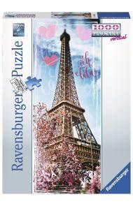 Puslespill Ravensburger 1000 Eiffeltower Panorama