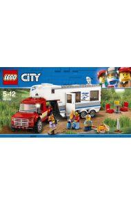 Lego Pickup Med Campingvogn 60182