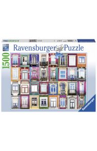 Puslespill Ravensburger 1500 Windows Porto
