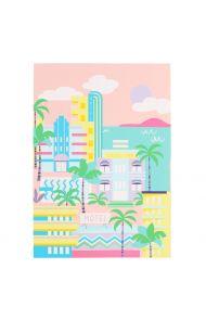 Notatbok A4 Soft Touch Miami