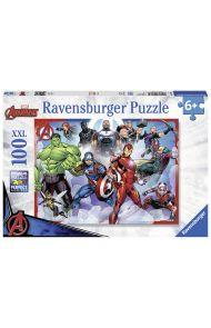 Puslespill Ravensburger 100 Marvel Avengers