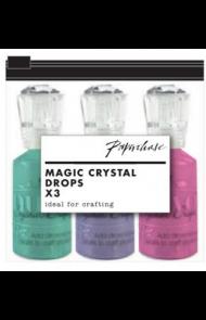 Flytende Glitterstener Rc Crystal 3 Ass