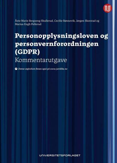 Personopplysningsloven og personvernforordningen (GDPR)