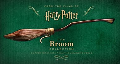 The broom collection & other artefacts from the Wizarding World