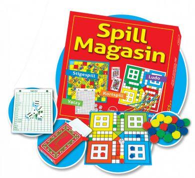 Spill Spillmagasin