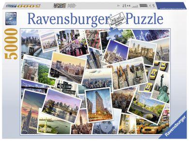 Puslespill 5000 New York City Ravensburger