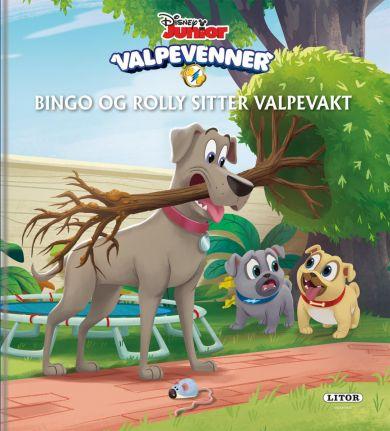 Bingo og Rolly sitter valpevakt!