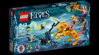 Lego Azari Og Flammeløvefellen 41192