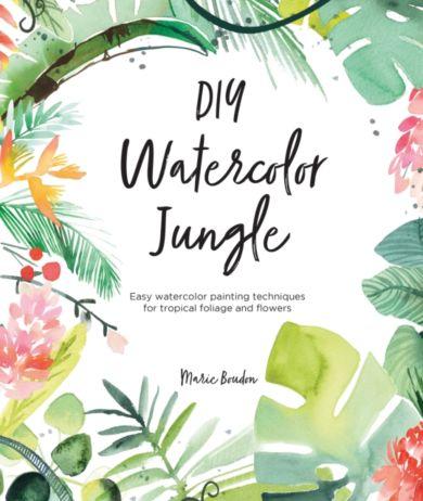 DIY Watercolor Jungle