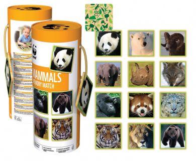 Wwf Mammals Memory Match
